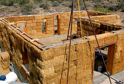 Constructiing a New Strawbale House Design Plans Construction