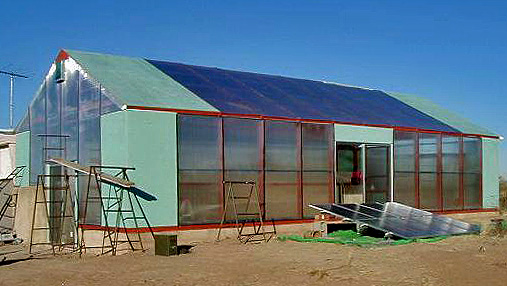 Greenhouse At Solar Haven