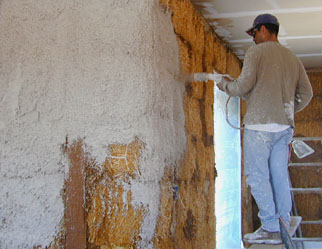 Delightful Lime Plastering Of Straw Bale Walls (Both Hand Applied And Professionally  Shot)
