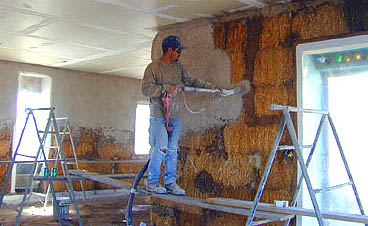 Pictures Of Straw Bale House Construction Part 4
